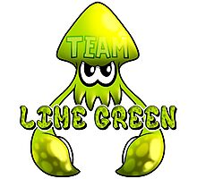 Team Lime Green - Inkling Photographic Print
