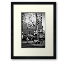 Urban Angel Framed Print