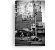 Urban Angel Canvas Print