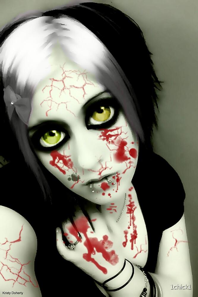 vampire eyes doll 1 by 1chick1