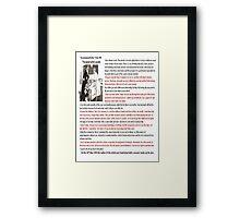 """""""Good Wife's Guide"""" Framed Print"""