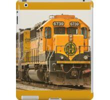 Trains - Locomotive - Ready for Service iPad Case/Skin