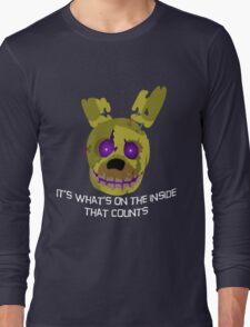 fnaf springtrap Long Sleeve T-Shirt