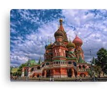 Cathedral of Basil the Blessed, Moscow, Russia Canvas Print