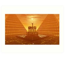 Temple of Ra (Large) Art Print