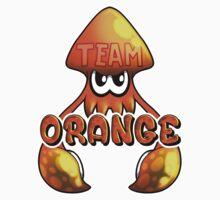 Team Orange - Inkling Baby Tee