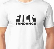 Film Fandango Logo - BLACK Unisex T-Shirt