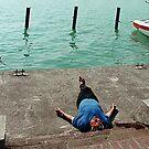 Siesta at Balaton by hynek