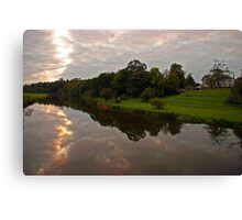 Along the Boyne Canvas Print