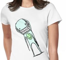 Cheesy Smile Womens Fitted T-Shirt