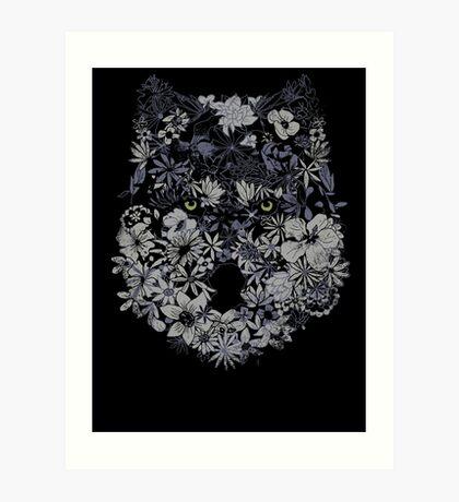 Lupus Herbaceous Art Print