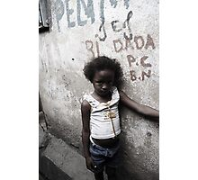 Rocinha Girl Photographic Print