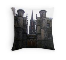 New College Throw Pillow