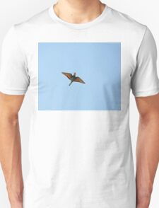 Flycatcher With Butterfly T-Shirt