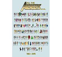 Every Avenger EVER! (for now at least...) Photographic Print