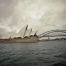 White Sails under Cloud by Gayan Benedict