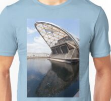 Cross Rail Station, at the West India North Dock, Canary Wharf Unisex T-Shirt