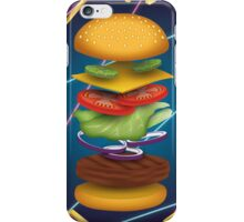 Max Burger iPhone Case/Skin