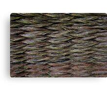 Knitted Fence in Etara, Bulgaria Canvas Print