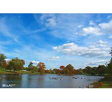 Hidden lake. Photographic Print