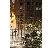 Reflections in Melbourne CBD Photographic Print