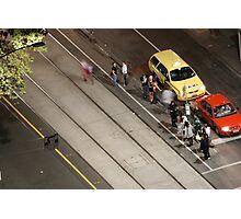 Street corners 1 - Melbourne CBD Photographic Print