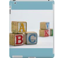 Grandpa's Blocks iPad Case/Skin