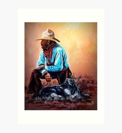 Blazing The Trail Art Print