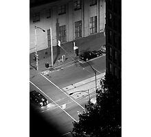 Street corners 2 - Melbourne CBD Photographic Print