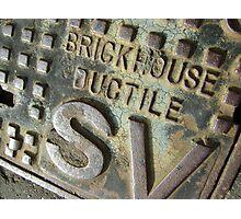 Brickhouse Ductile Photographic Print