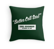 Breaking Bad - Better Call Saul Throw Pillow