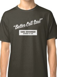 Breaking Bad - Better Call Saul Classic T-Shirt