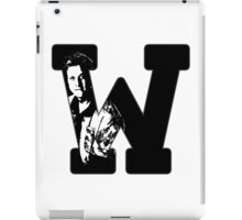 W is for Wash iPad Case/Skin