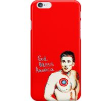 Captain America: God Bless America iPhone Case/Skin