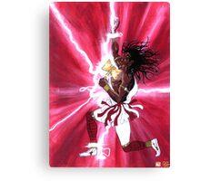 CHANGO - Orisha of Thunder & Lightning Canvas Print
