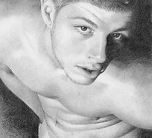Mehadi (Detail of face) by David J. Vanderpool