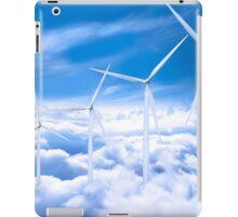 Wind Turbines in the sky iPad Case/Skin