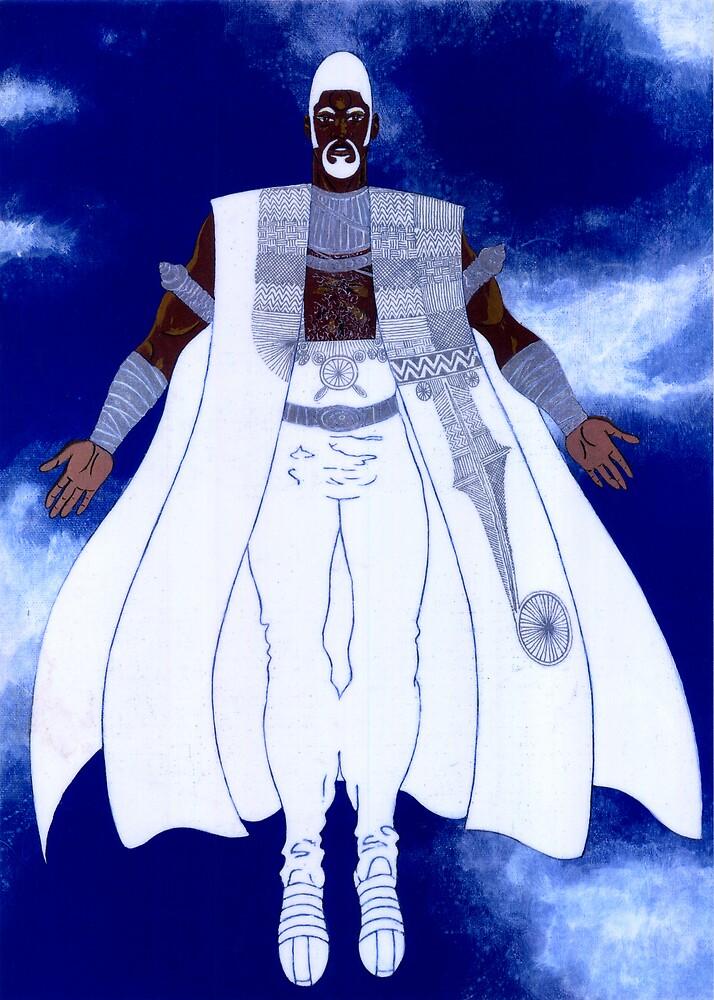 OBATALA - Orisha of the White Cloth by cjjuzang