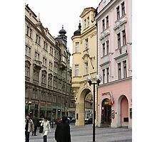 Just off of Old Town Square Prague Photographic Print