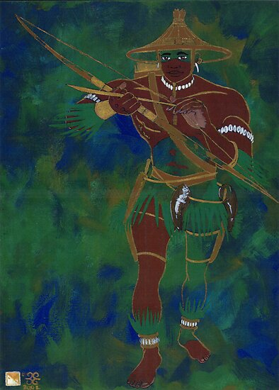OCHOOSI - Orisha of Justice by cjjuzang