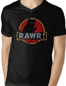 Rawr! Mens V-Neck T-Shirt