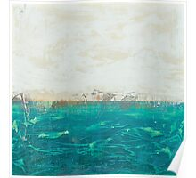 abstract seascape Poster