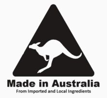 Made In Australia (Black) Kids Clothes