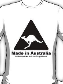 Made In Australia (Black) T-Shirt