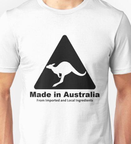 Made In Australia (Black) Unisex T-Shirt