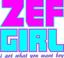 ZEF GIRL by RagingRat23