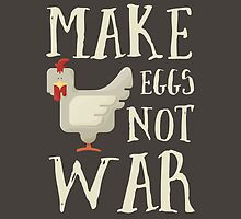 Make Eggs Not War by junkydotcom