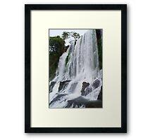 Free Flow Framed Print