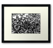 The Lines of a Classic Framed Print