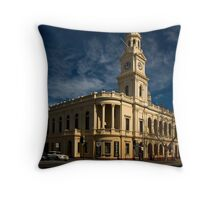 Paddington Town Hall Throw Pillow